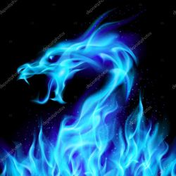dragon fire illustration vector mystical number dvargg depositphotos