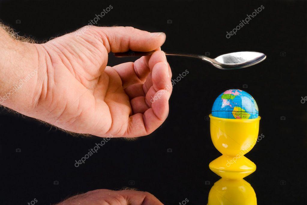 Resultado de imagen de planeta en huevera