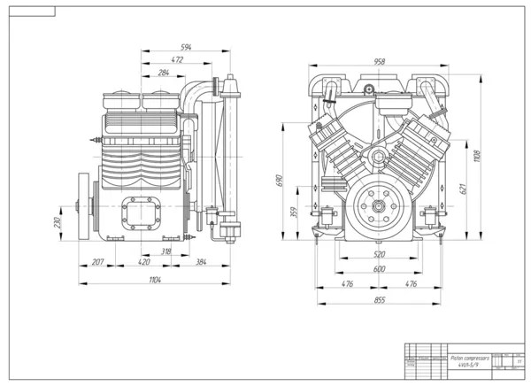 Oil And Gas Pressor Diagram, Oil, Free Engine Image For