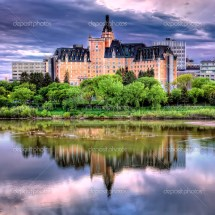Delta Bessborough Hotel In Saskatoon Canada Stock