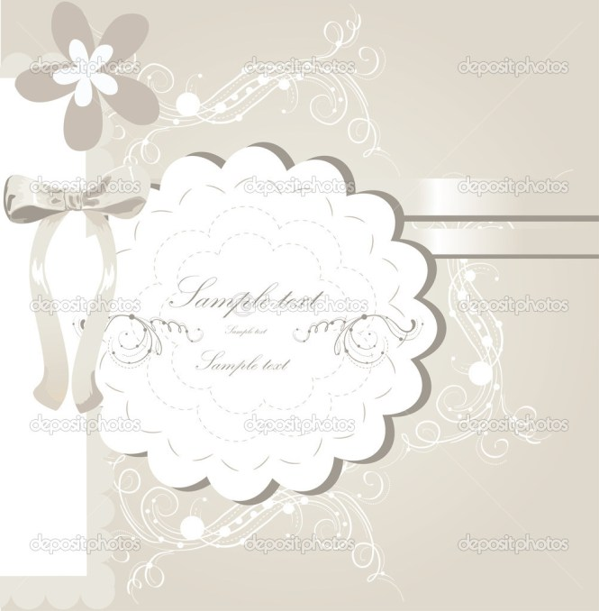Fl Wedding Card Design