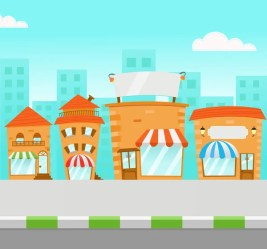 ᐈ Small town cartoon stock images Royalty Free cartoon small towns vectors download on Depositphotos®