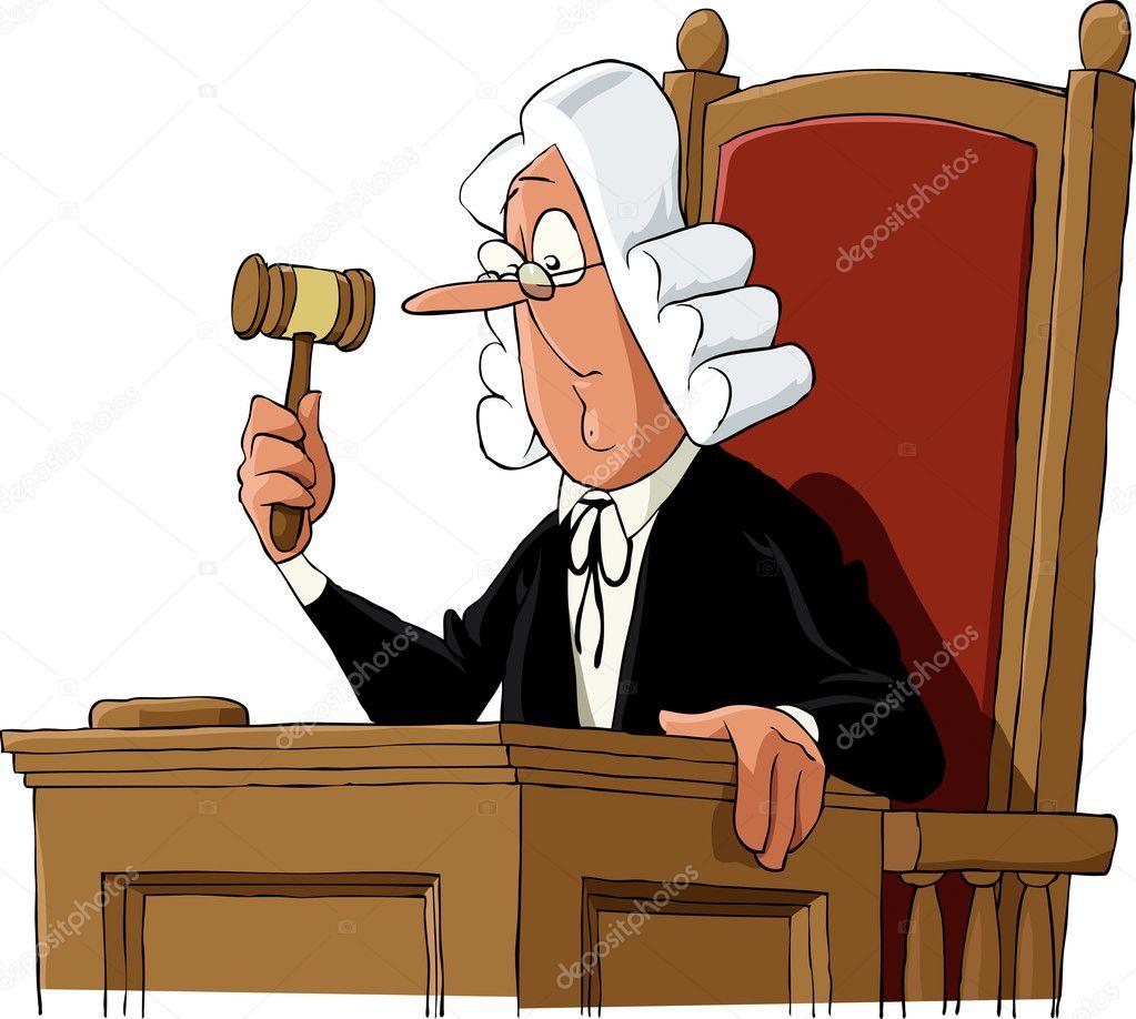 Znalezione obrazy dla zapytania sędzia rysunek