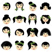 girls with hair styles