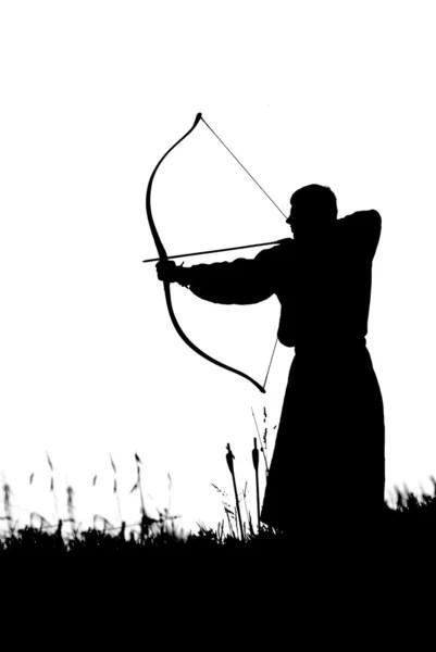 Gambar Pemanah : gambar, pemanah, Busur, Panjang, Panah, Foto,, Gambar, Bebas, Royalti, Depositphotos®