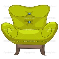 Cartoon Home Furniture Chair  Stock Vector  rastudio ...