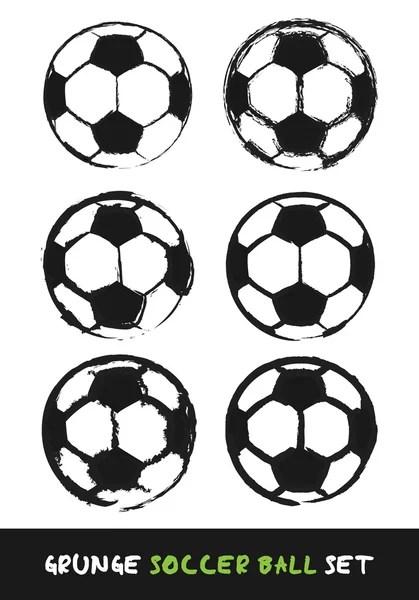 Hand Drawn Grunge Soccer Field — Stock Vector © burakowski
