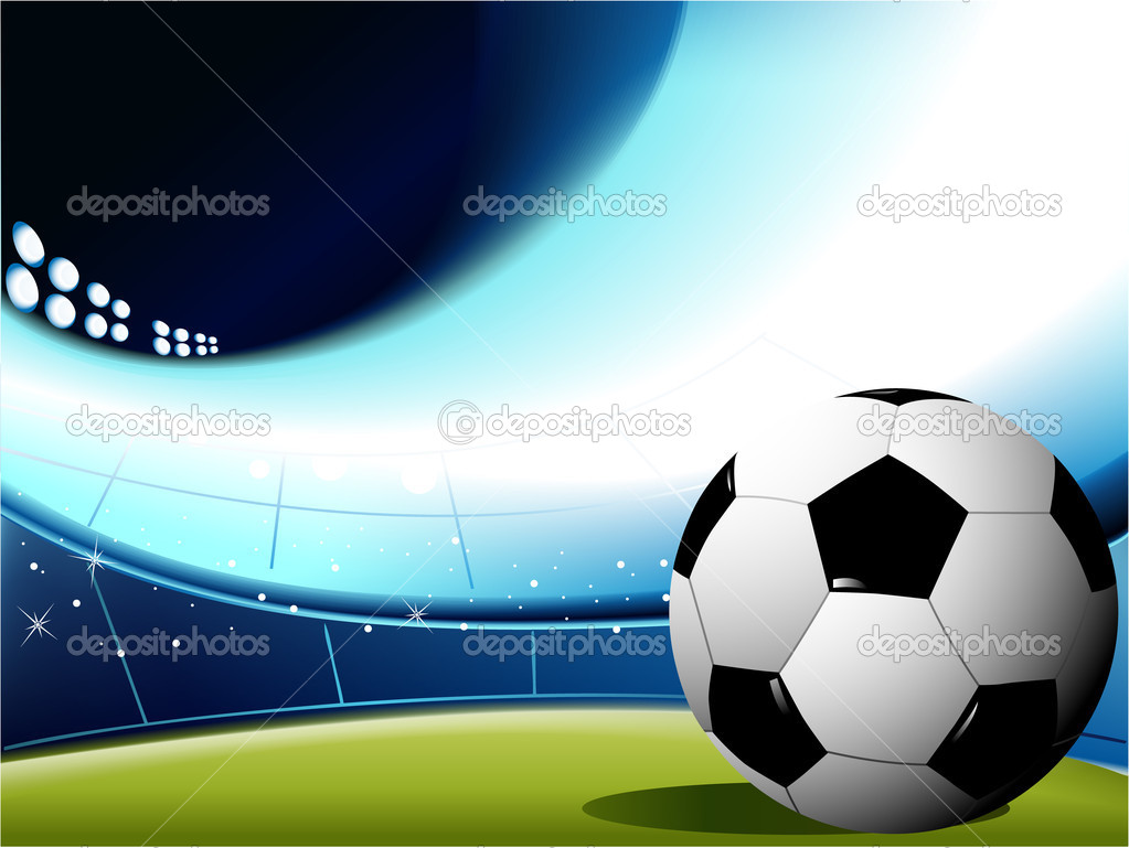 abstract football background stock
