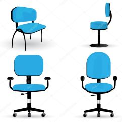 Office Chair Illustration King Kong Massage Set Of Illustrations  Stock Vector Glyph