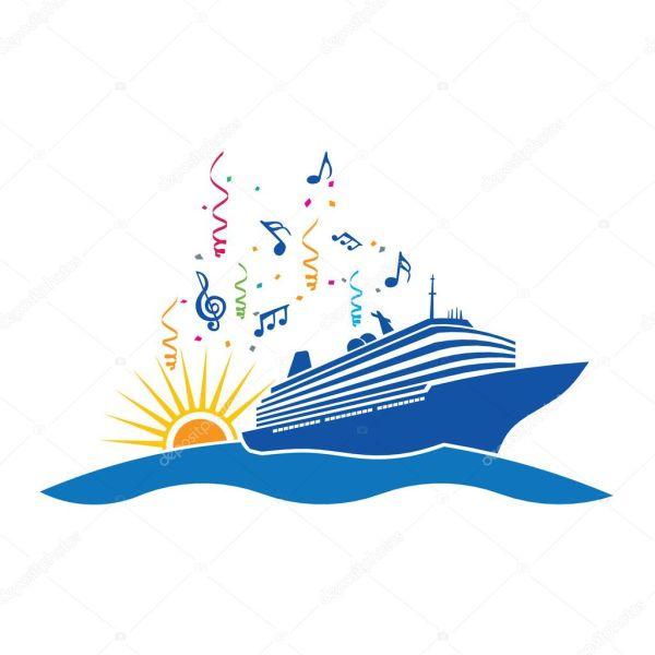 Party Cruise Stock Vector Deskcube #9571396