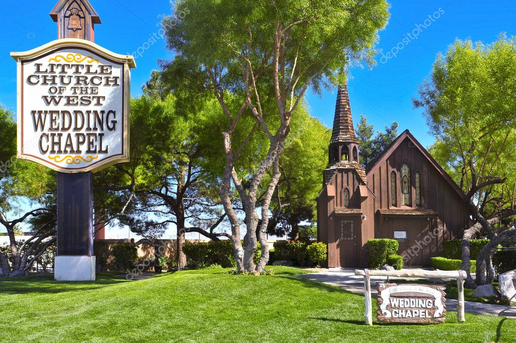 Little Church Of The West In Las Vegas United States