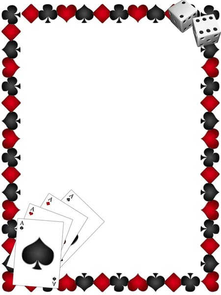 Playing Cards With Border — Stock Photo © Lina0486 #8933271