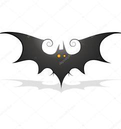 bat clipart stock illustration [ 1024 x 1024 Pixel ]