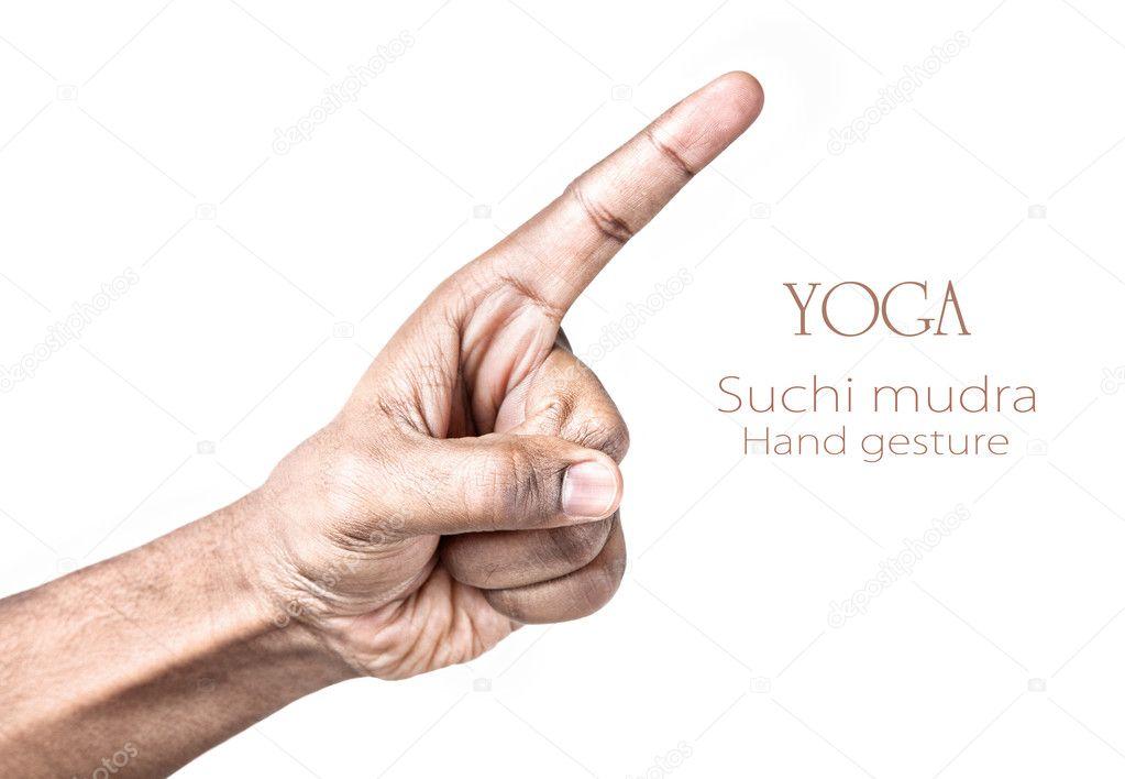 Yoga Suchi Mudra — Stock Photo © Byheaven #8561509