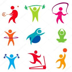 ᐈ Fit stock icon Royalty Free fitness icon vectors download on Depositphotos®