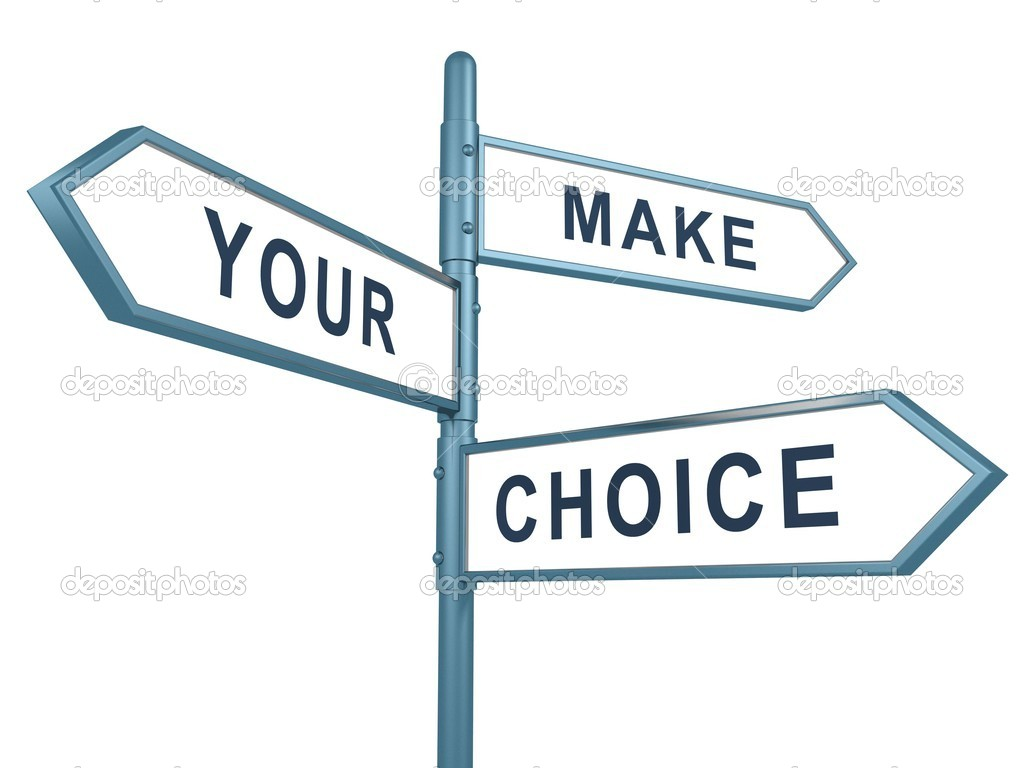 Image result for make your choice