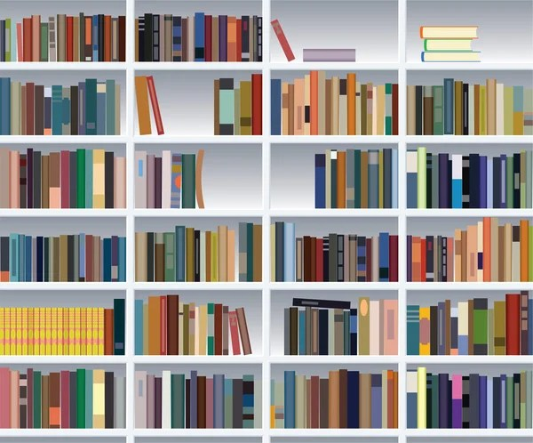 bookcase stock vectors royalty