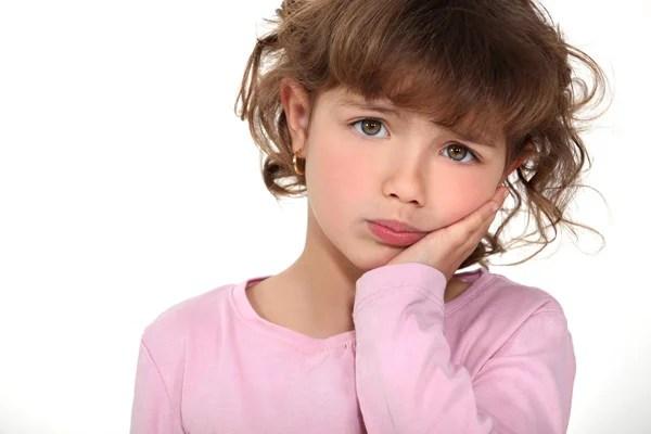 pouting kid stock photos