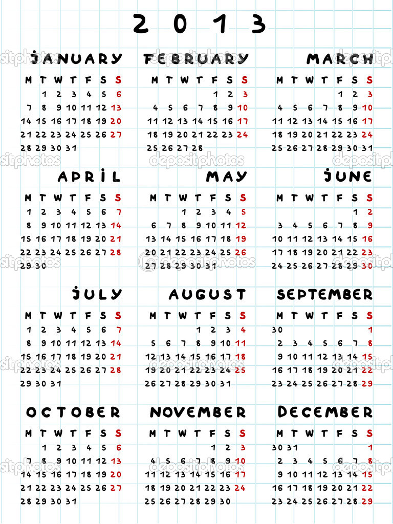 2013 calendar year of the snake — Stock Photo © richcat