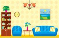Living room  Stock Vector #10539991