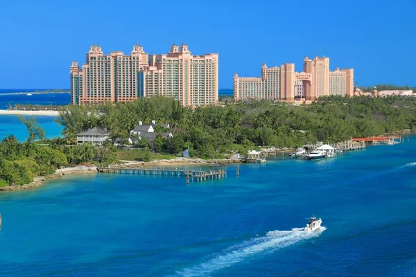 bahamas landscape stock