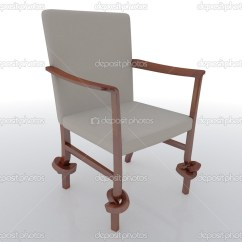 Unusual Chair Legs Compact Folding Stock Photo C Mopic 8021713 With Knotted In An Empty Interior By
