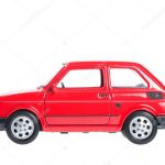Fiat 126p Red Stock Photo Image By C Klaudiafj 9852390