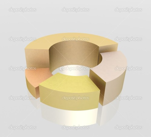 small resolution of 3d circular diagram on white background photo by 3ddock