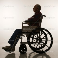 Wheelchair Man Small Chair Covers In  Stock Photo Iofoto 9523362
