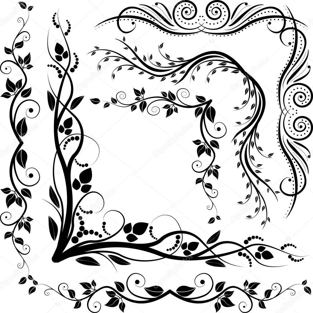 Decorative corners — Stock Vector © mtmmarek #8654577