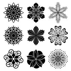 Flower clipart Stock Vectors Royalty Free Flower clipart Illustrations Depositphotos®