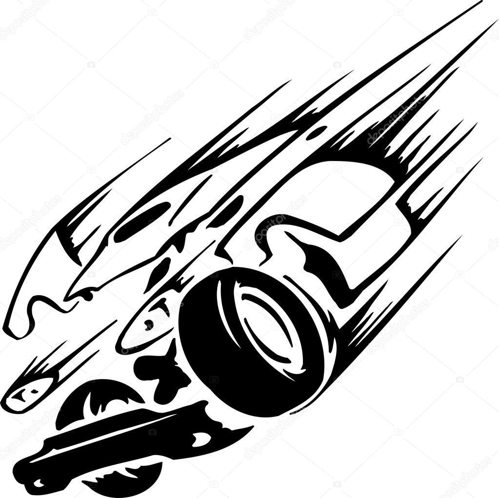 hight resolution of carreras estilo emblema blanco y negro de tribus vector de digital clipart
