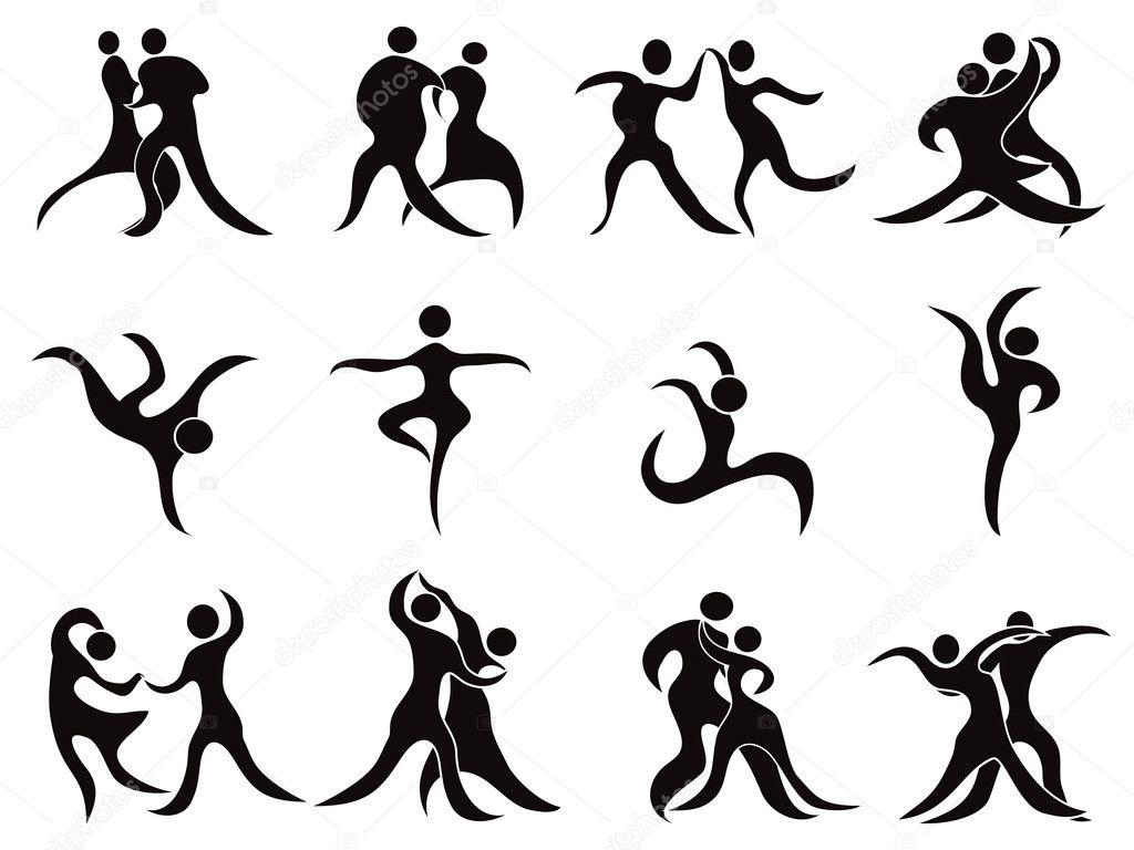Raccolta Di Ballerini Astratte