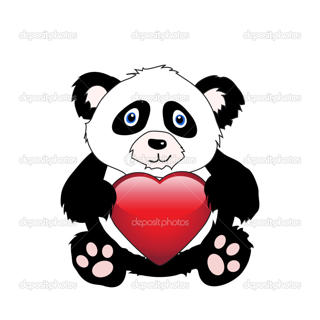 Imagenes Pandas Animados Con Corazones