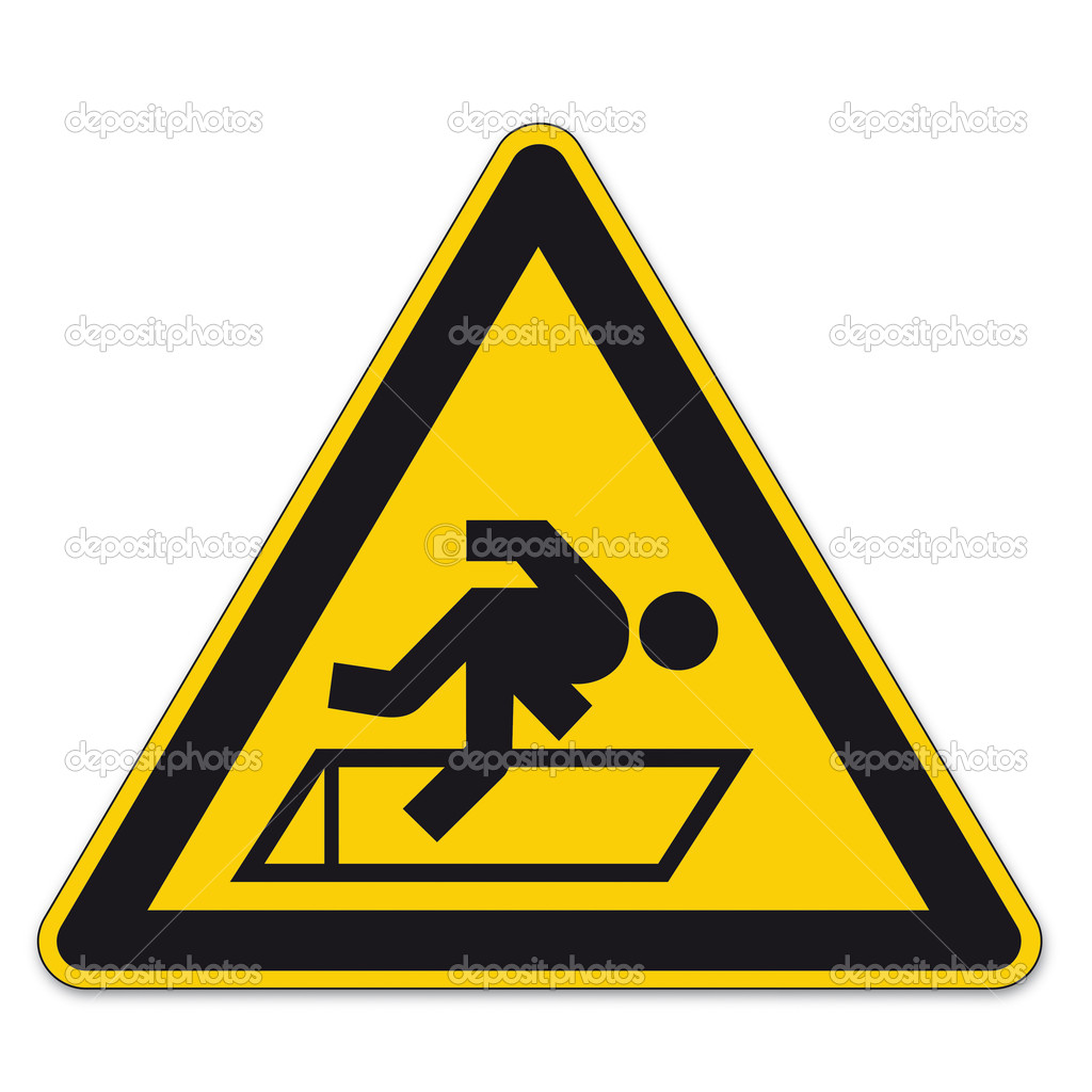 Safety Signs Warning Triangle Sign Bgv Floor Hatches