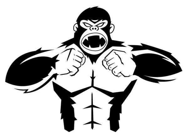 Gorilla — Stock Vector © premiumdesign #11441241