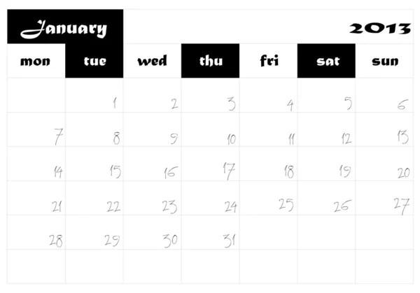 Calendar 2014-2015-2016 — Stock Vector © Changered #29237537