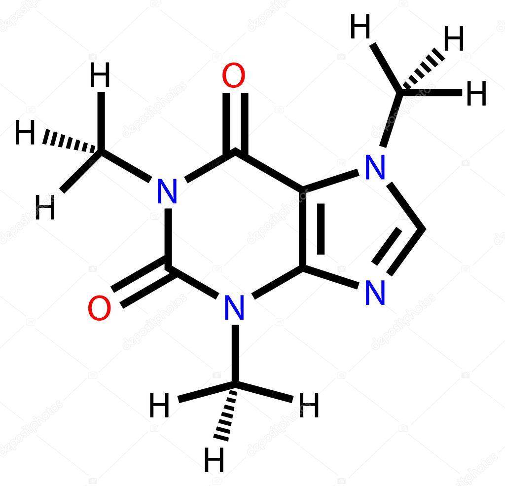 Formula Estrutural De Cafeina