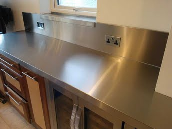 stainless steel wall panels for commercial kitchen pull out trash can the splashbacks sector