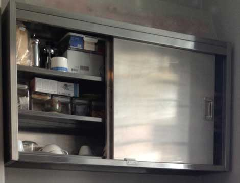 commercial kitchen hood cleaning stationary islands for sale stainless steel the wall cabinet sector