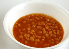 200 Calories of Canned Pork and Beans