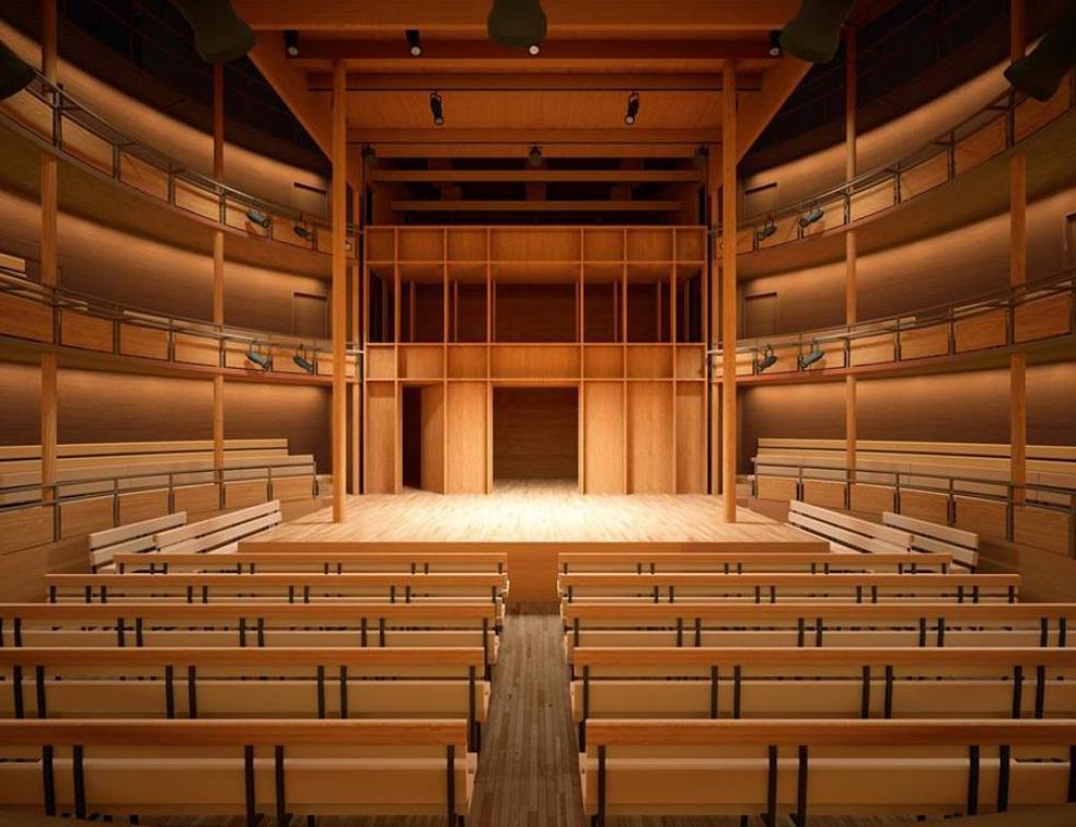 Le Théâtre Dans Le Théâtre : théâtre, Théâtre, D'Hardelot,, Meilleure, Construction