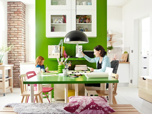 green home office Gorgeous Green Home Offices - Telecommute and Remote Jobs