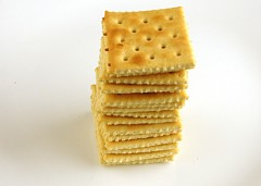 200 Calories of Salted Saltines Crackers
