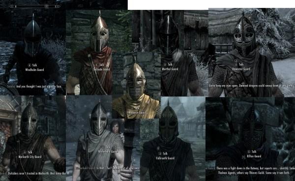 Skyrim Guard Meme