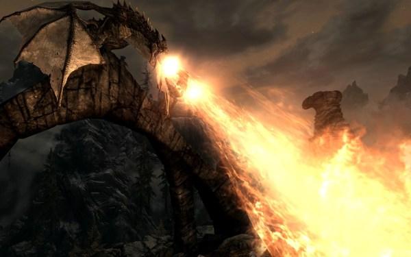 Dragons Fire Breath 2 Skyrim Nexus - Mods And Community