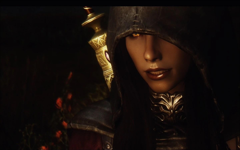 Serana s new hood at Skyrim Nexus  mods and community