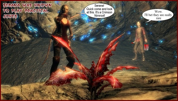 Skyrim talking nirnroot