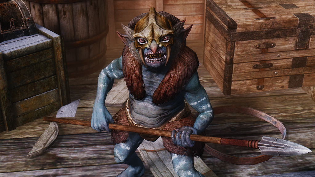 Riekling At Skyrim Nexus
