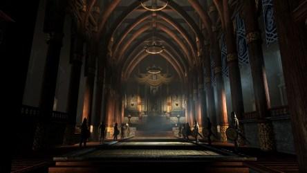 throne room thrones hall game fantasy king medieval background castle dwarven throneroom castles concept backgrounds desktop evil skyrim rpg interior